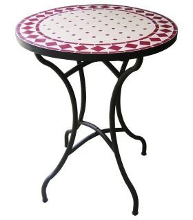 Tisch Mosaik Kunsthandwerk - handgemacht - verschiedene Größen und Farben