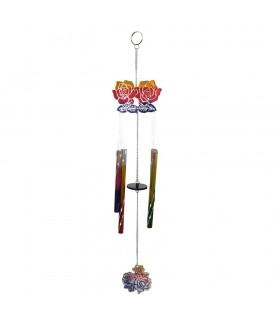 Colata di vento - rosa Multicolor - campagna mobile - 35cm