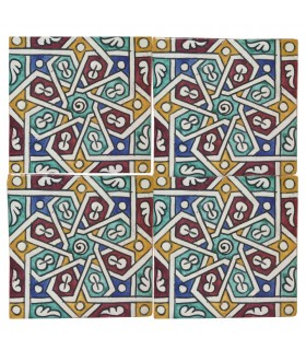 Al-Andalus - 14,5 cm - verschiedene Designs - handgefertigte Tile - Modell 6