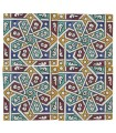 Al-Andalus - 14,5 cm - several designs - handcrafted tile - model 6
