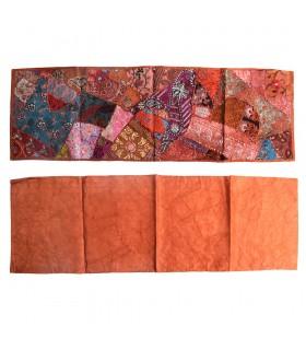Esteira longa Patchwork - 150 x 48 cm - várias cores