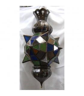 Cores de vidro da lâmpada Alba Lucero árabe - andaluza-