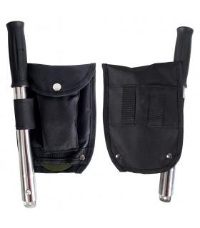 Kit Supervivenvia - hache, pelle et Sierra - Adaptable handle du champ