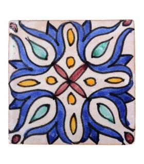 Al-Andalus - 10 cm - several designs - handcrafted tile - model 32