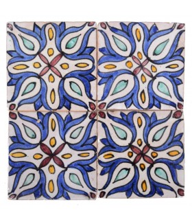 Al-Andalus - 10 cm - several designs - handcrafted tile - model 32