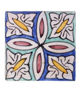 Al-Andalus - 10 cm - several designs - handcrafted tile - model 33