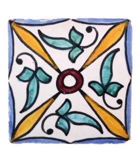 Azulejo Andalusí - 10 cm - Varios Diseños- Artesanal- Modelo 36