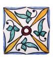 Azulejo Andalusí - 10 cm - Artesanal- Modelo 36