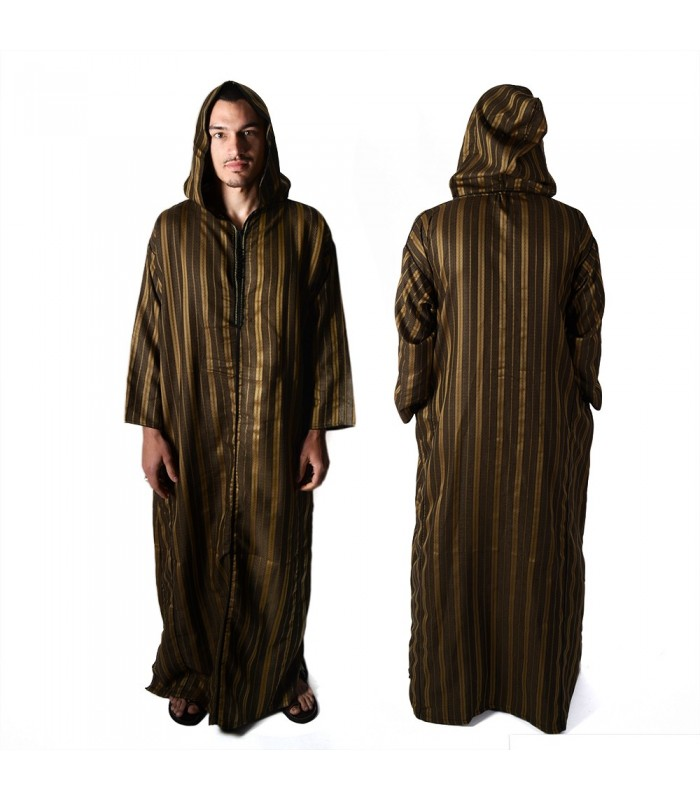 Moroccan djellaba with hood - classic style - various models