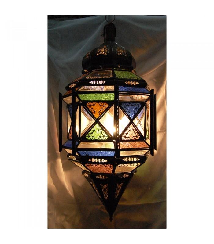 Crystal Lamp Columns Grande - Al Andalus - Arabic