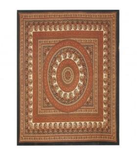 Índia-Tela Cotton-Chandni Floral-Artisan-140 x 210 cm
