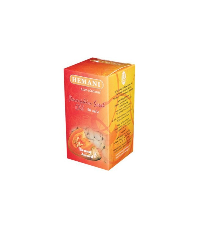 Pumpkin seed oil - HEMANI - 30 ml