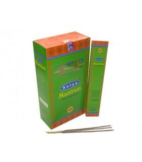 Hastes de 12 caixa incenso - mantra - SATYA - novidade-