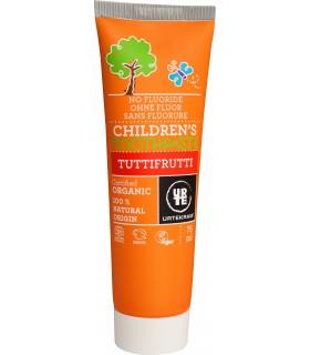 Pasta De Dientes Para Niños- Orgánica- Tutti-Frutti - 75 ml - URTEKRAM
