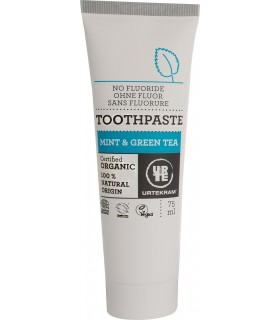 Tooth paste - organic - mint and green tea - 75 ml