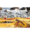 Fabric Cotton-India- Didgeridoo Musician-140 x 210 cm