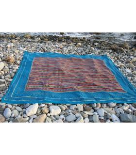 Baumwolle Stoff - gebildet afrikanische - Qualität Spezial - 220 x 256 cm