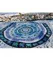 India-Elephant Cotton Fabric Pecock Floral-Craft-210 x 240 cm