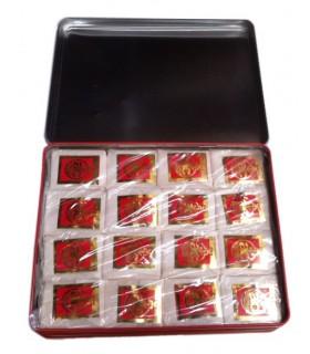 Perfume de almíscar na pedra - 16 comprimidos - formato lata - 375 g