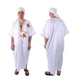 Djellaba Saharawi - Original garment - various colors