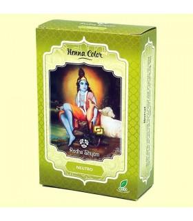 Hennè colorante naturale dei capelli-neutro-Radhe Shyam-100 gr