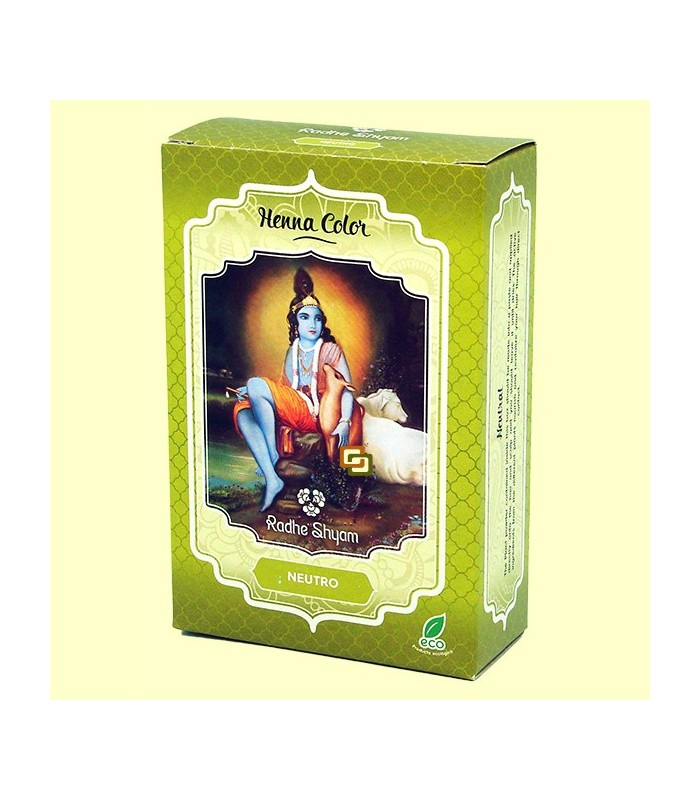 Henna Natural Teñir Pelo - Neutra - Radhe Shyam - 100 gr