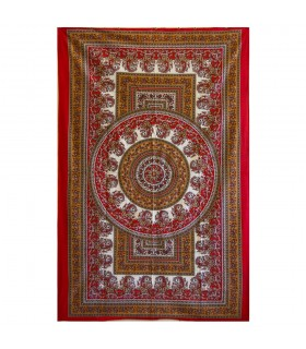 India-Cotton- Chandni Floral -Artisan-140 x 210 cm