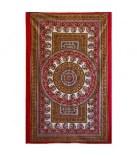 Tela Algodon-India-Chandni Floral-Artesana-140 x 210 cm