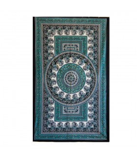 Inde-Cotton- Chandni Floral-Artisan-140 x 210 cm