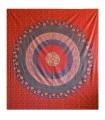 Artesão de India - elefante Imperial - tecido algodão - 220 x 240 cm