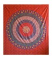 Indian Cotton Fabric - Floral Mandala - Craft - 210 x 240 cm