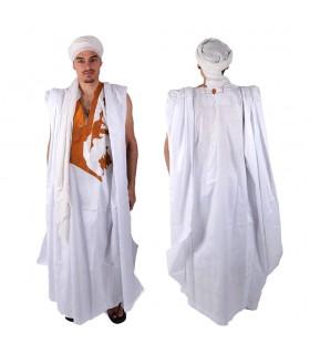 Derrá Mauritano - Vestimenta Del Desierto - 100% Algodón - Con Bordados