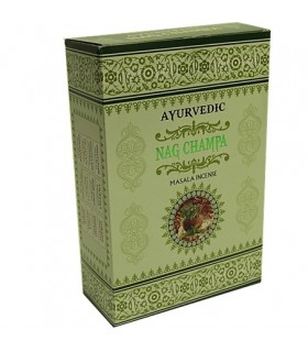 Masala - Ayurvédica - incenso Nag Champa - caixa 15 hastes