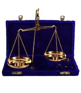 Báscula de Precisión Gr. - Mg. - Funda Terciopelo o Madera