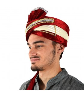Cappello indiano Fiesta - decorazioni luminose - 2 colori