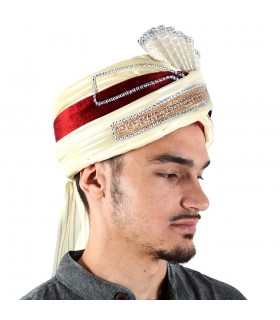 Hat Indian Fiesta - bright decoration - 2 colors