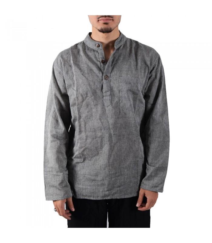 Long cotton shirt - various colors - perfect summer