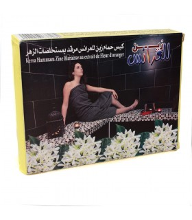 Cleaning glove Kessel - with extract of rose - Exfoliating - Hammam - NOVELTY