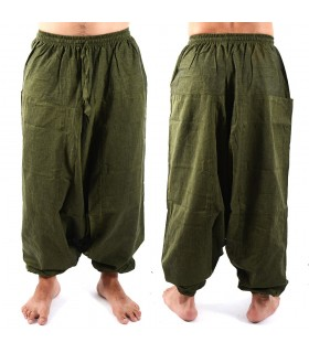 Sarouel homme - coton - taille - 1 poche - différentes couleurs