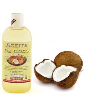Óleo de coco - 250 ml. - 1 L.