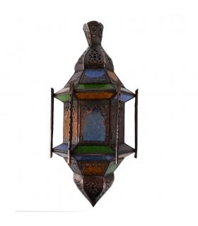 Appliquer le tirant d'eau de verre - barres - Windows - multicolore - 43 cm