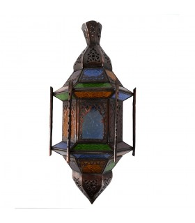 Apply glass draught - bars - Windows - Multicolor - 43 cm