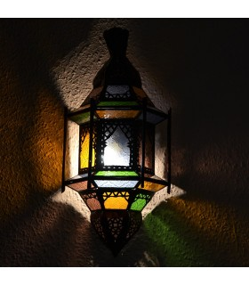 Applicare vetro pescaggio - pub - Windows - multicolore - cm 43