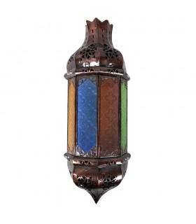 Aplicar a corrente de ar vidro - Multicolor - cidadela - 48 cm