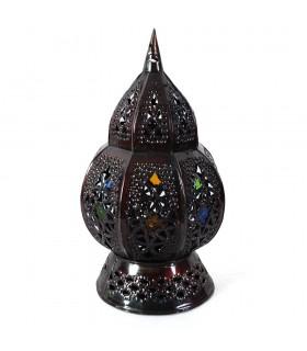Portavelas Marrakesh - Cristales Incrustados - 2 Piezas