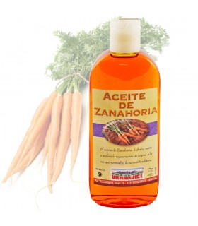 Carrot oil - 250 ml.