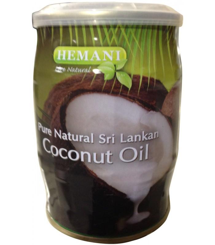 Aceite Puro De Coco De Sri Lanka - Natural - 400 ml