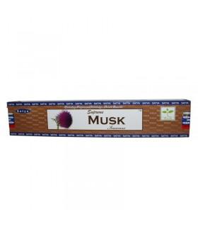 Bâtonnets d'encens - SATYA - suprême - musc - 15 g