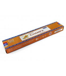 Bâtonnets d'encens - SATYA - suprême - Champa - 15 g