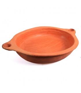 Fuente Barro - Cocina Sana - 100% Artesanal - 37 cm